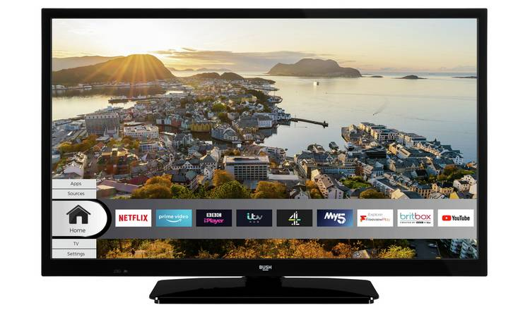 Bush 24 Inch Smart HD Ready HDR Freeview  TV With Alexa