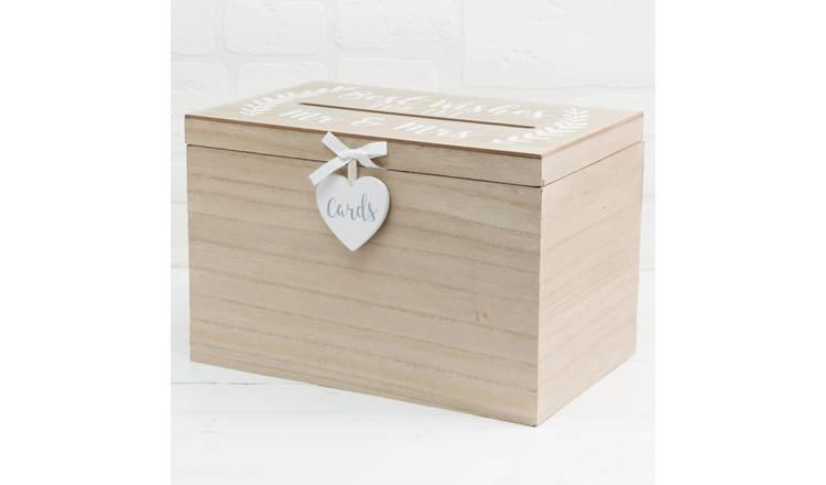 Card Box Wedding.Buy Love Story Wedding Card Box Novelty Gifts Argos