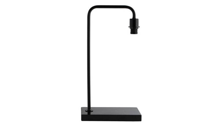 Habitat Marbelle Table Lamp with Black Base