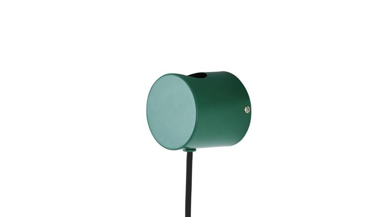 Habitat Wells Wall Light - Green