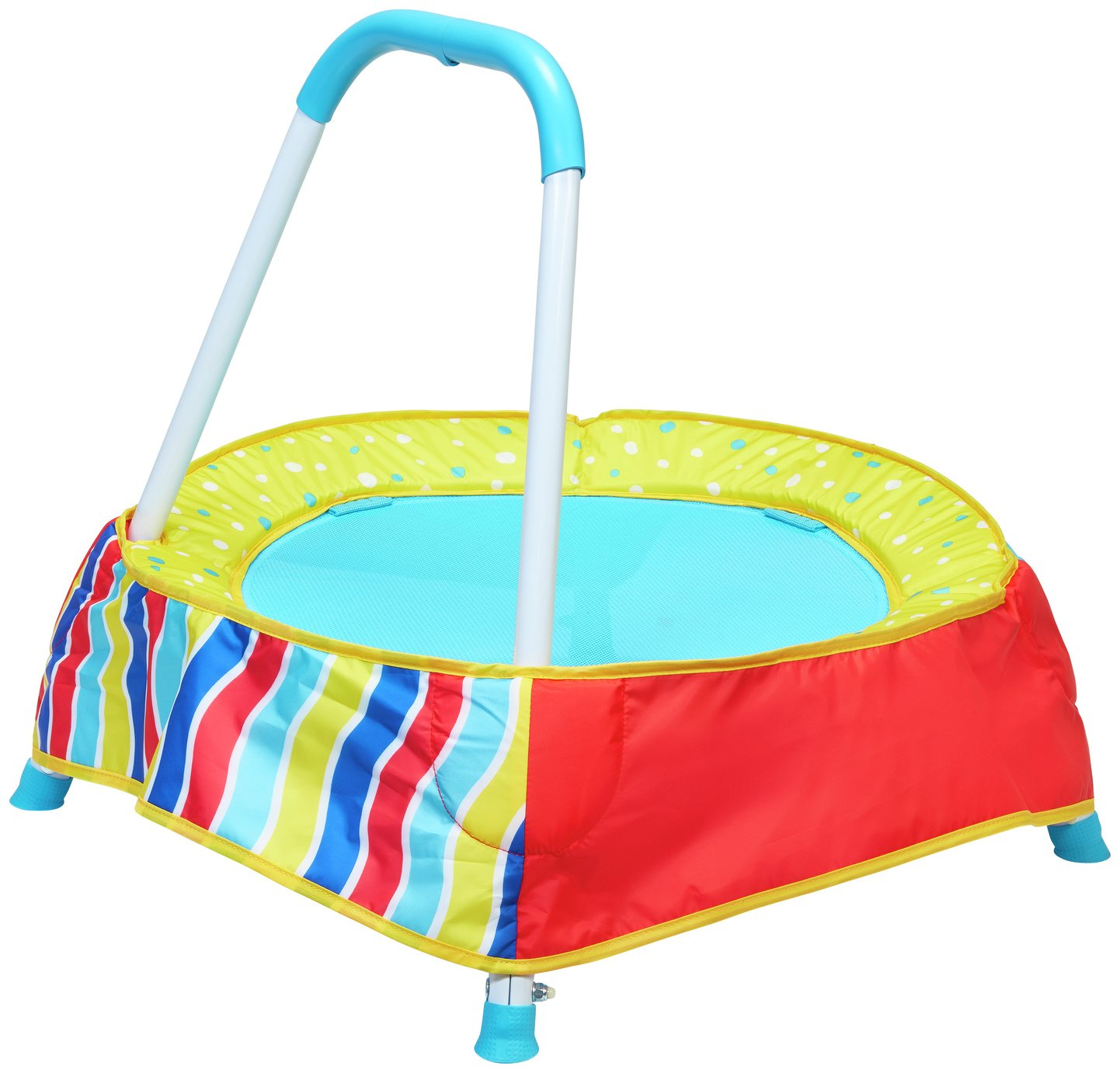 Chad Valley Toddler 2 Ft. Trampoline - Multicoloured