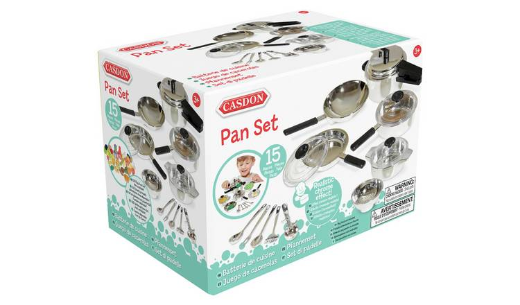 Casdon Toy Pan Set