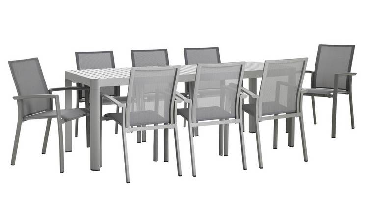 Habitat Blake 8 Seat Table Set With Chairs