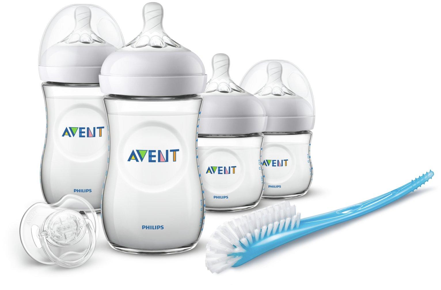 Philips Avent Anti-Colic Natural Bottle Newborn Set 6 pack