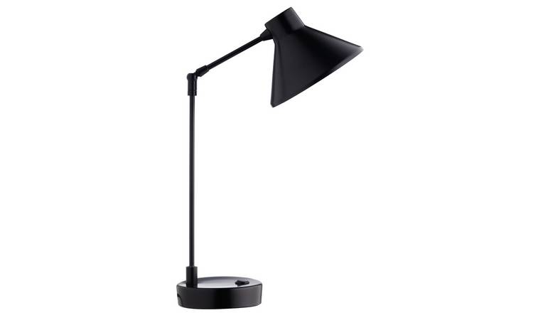 Habitat Bobby Desk Lamp - Black