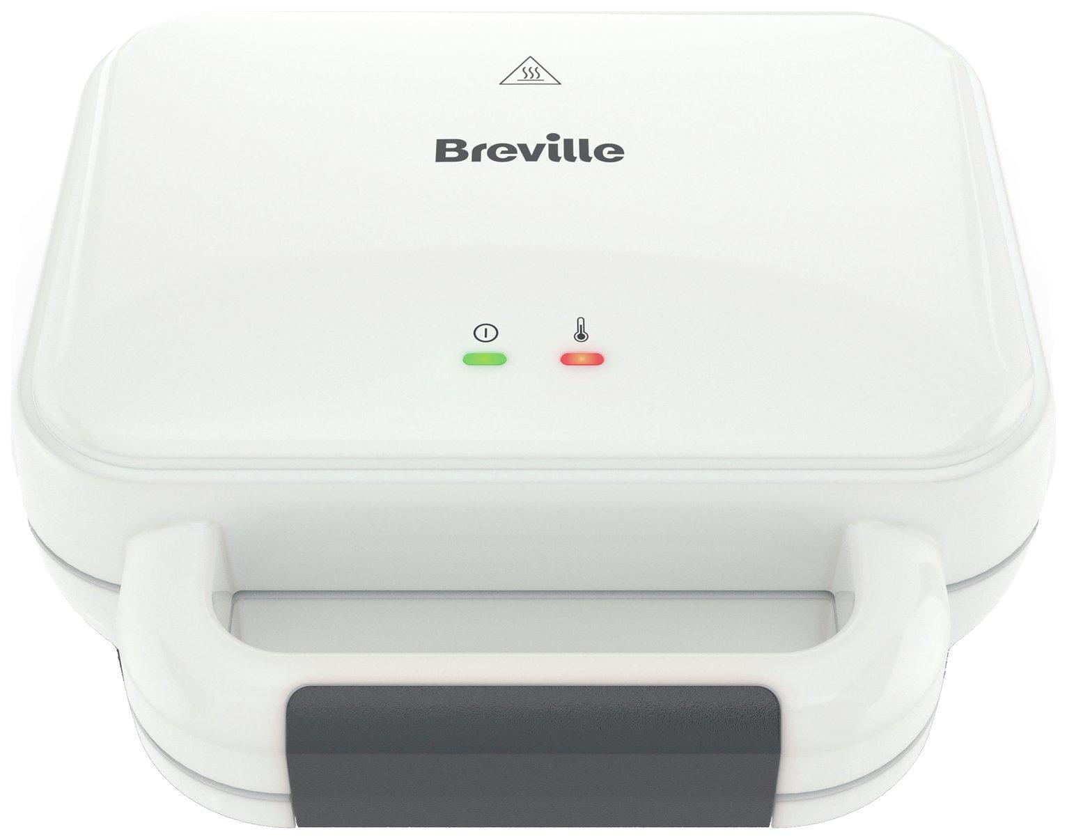 Breville VST091 Deep Fill 2 Portion Sandwich Toaster - White
