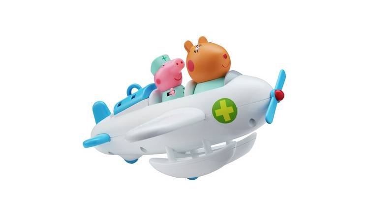 Peppa Pig and Dr Hamster Aeroplane and Figure Playset