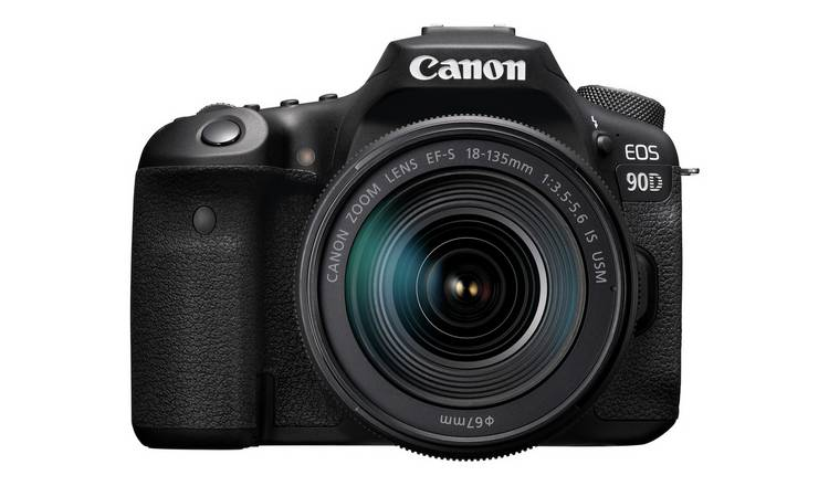Canon EOS 90D DSLR Camera Body with 18-135mm Lens