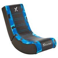 X Rocker Video Rocker Junior Gaming Chair - Blue Camo Edn
