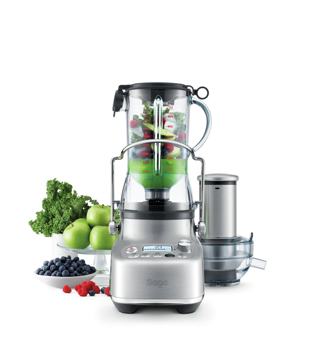 Sage SJB815BSS 3X Bluicer Pro Juicer - Stainless Steel