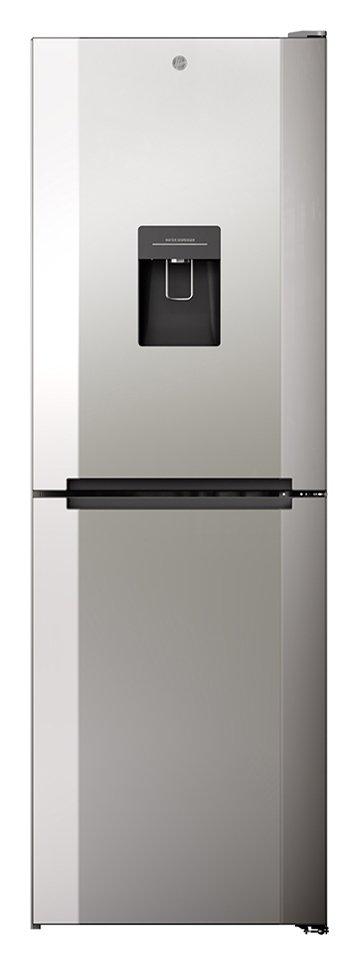 Hoover H1826MNB5XWKN Frost Free Fridge Freezer - Silver