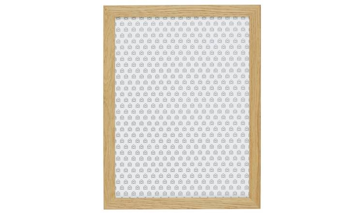 Habitat Houston 30 X 40cm/12 X 16inch Oak Wall Frame