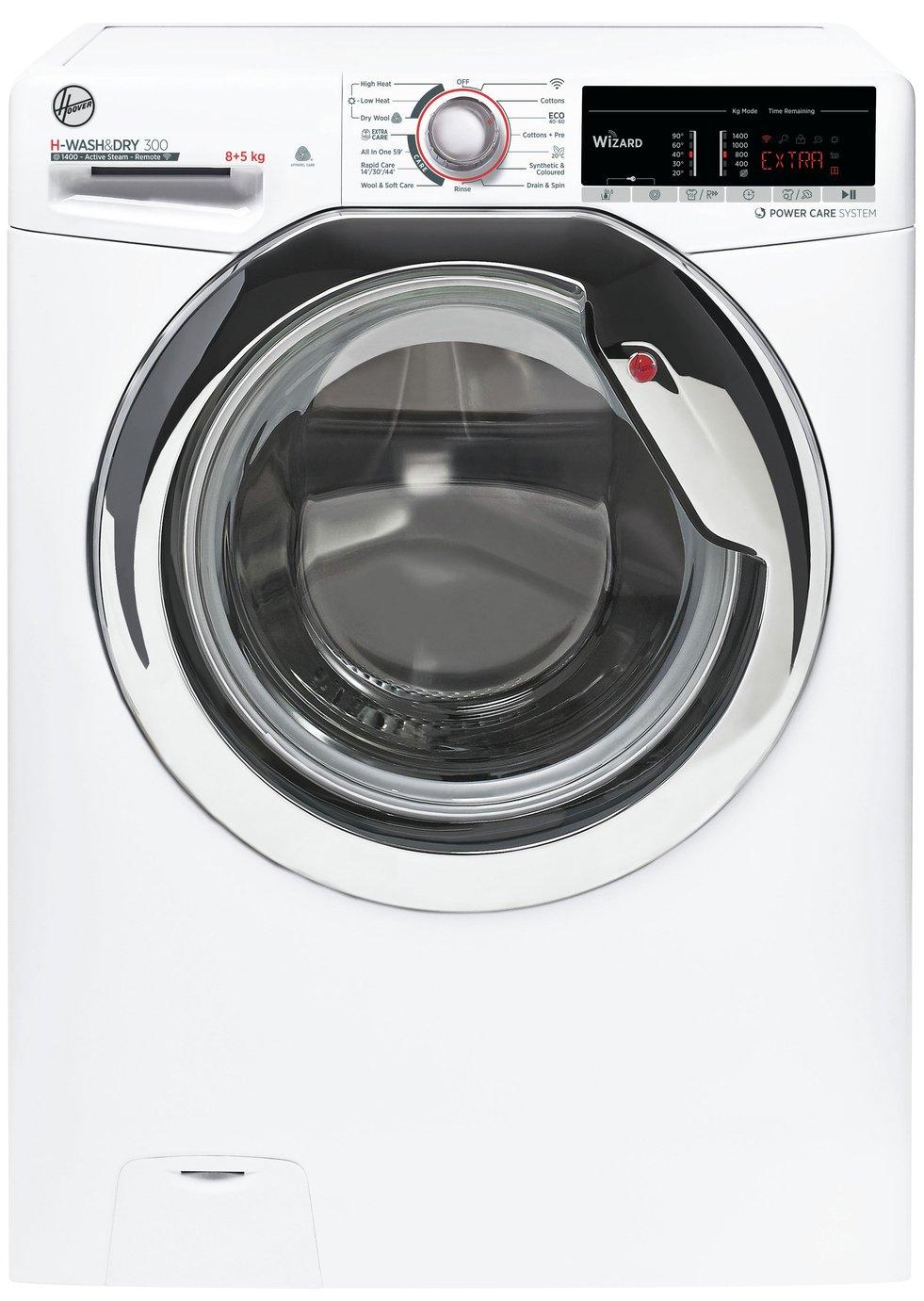Hoover H3DS 4855TACE 8KG / 5KG Washer Dryer - White