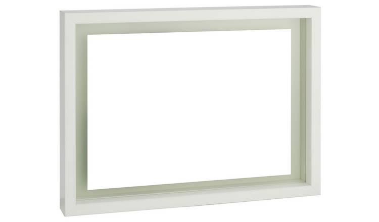 Habitat Monro A4/8 X 12inch White Floating Photo Frame