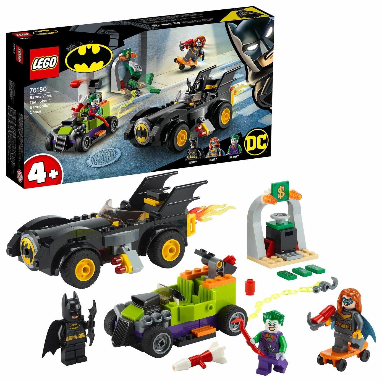 LEGO DC 4+ Batman v The Joker: Batmobile Chase Toy Car 76180