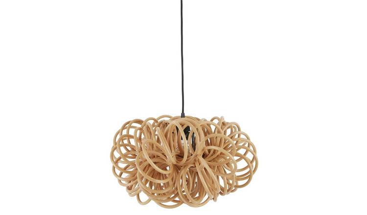 Habitat Shaw Rattan Easy to Fit Ceiling Shade