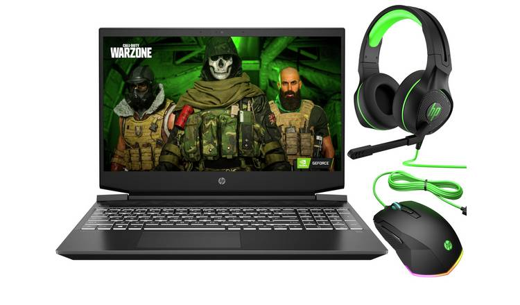 HP Pavilion 15.6in Ryzen 5 8GB 256GB GTX1650 Gaming Laptop
