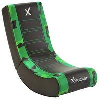 X Rocker Video Rocker Junior Gaming Chair - Green Camo Edn
