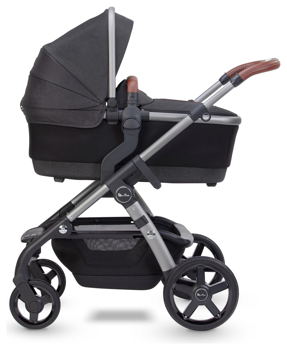 Silver Cross Wave Travel System - Charcoal