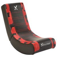 X Rocker Video Rocker Junior Gaming Chair - Red Camo Edition