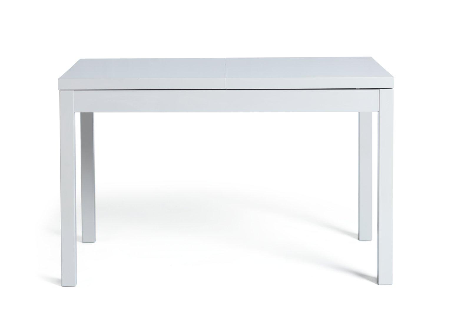 Habitat Lyssa Extending 6-8 Seater Dining Table - White