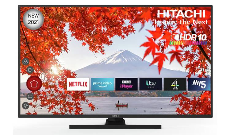 Hitachi 55 Inch 55HK6100UC 4K Smart UHD HDR Freeview TV