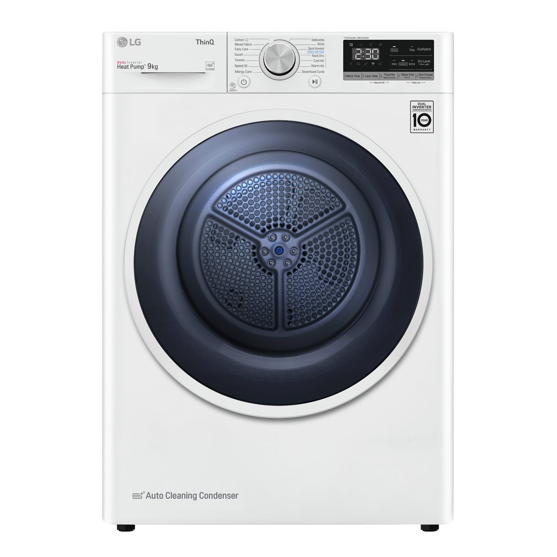 LG FDV309W 9KG Heat Pump Tumble Dryer - White