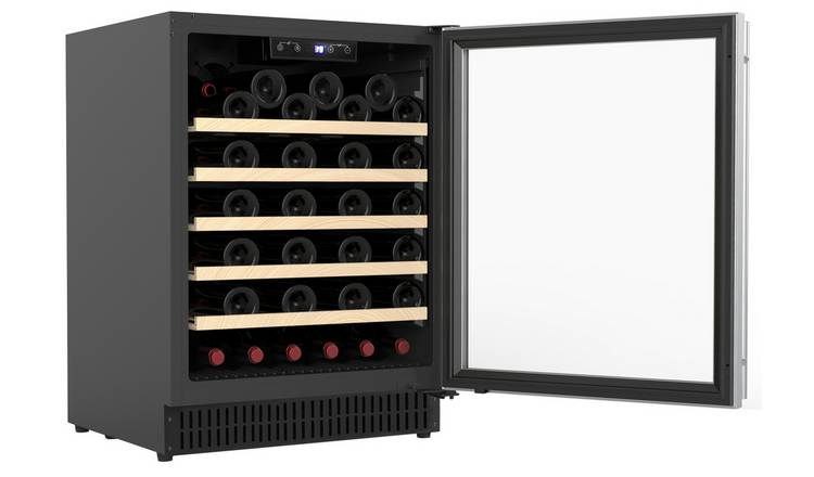 Bush BEWC52 Bottle Wine Cooler - Stainless Steel