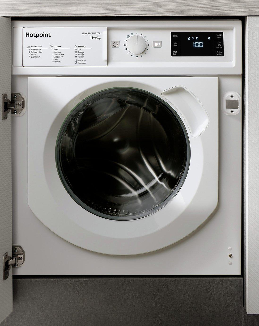 Hotpoint BIWDHG961484 9kg 1400 Spin Integrated Washer Dryer