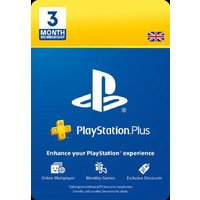 3 Month PlayStation Plus Membership