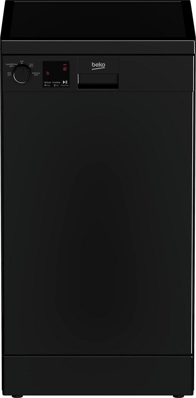 Beko DVS04020B Slimline Dishwasher - Black