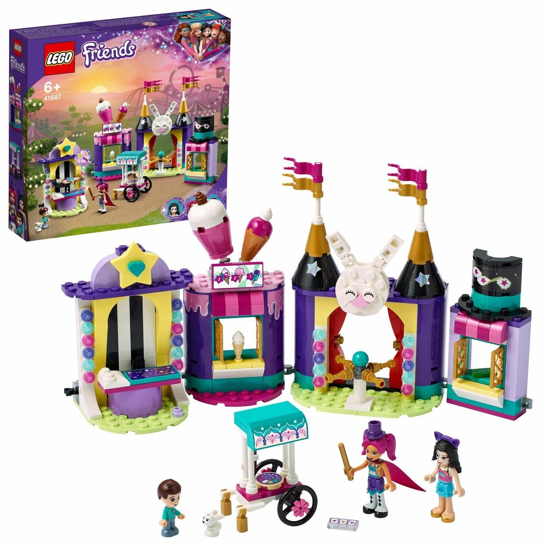 LEGO Friends Magical Funfair Stalls Fairground Set 41687