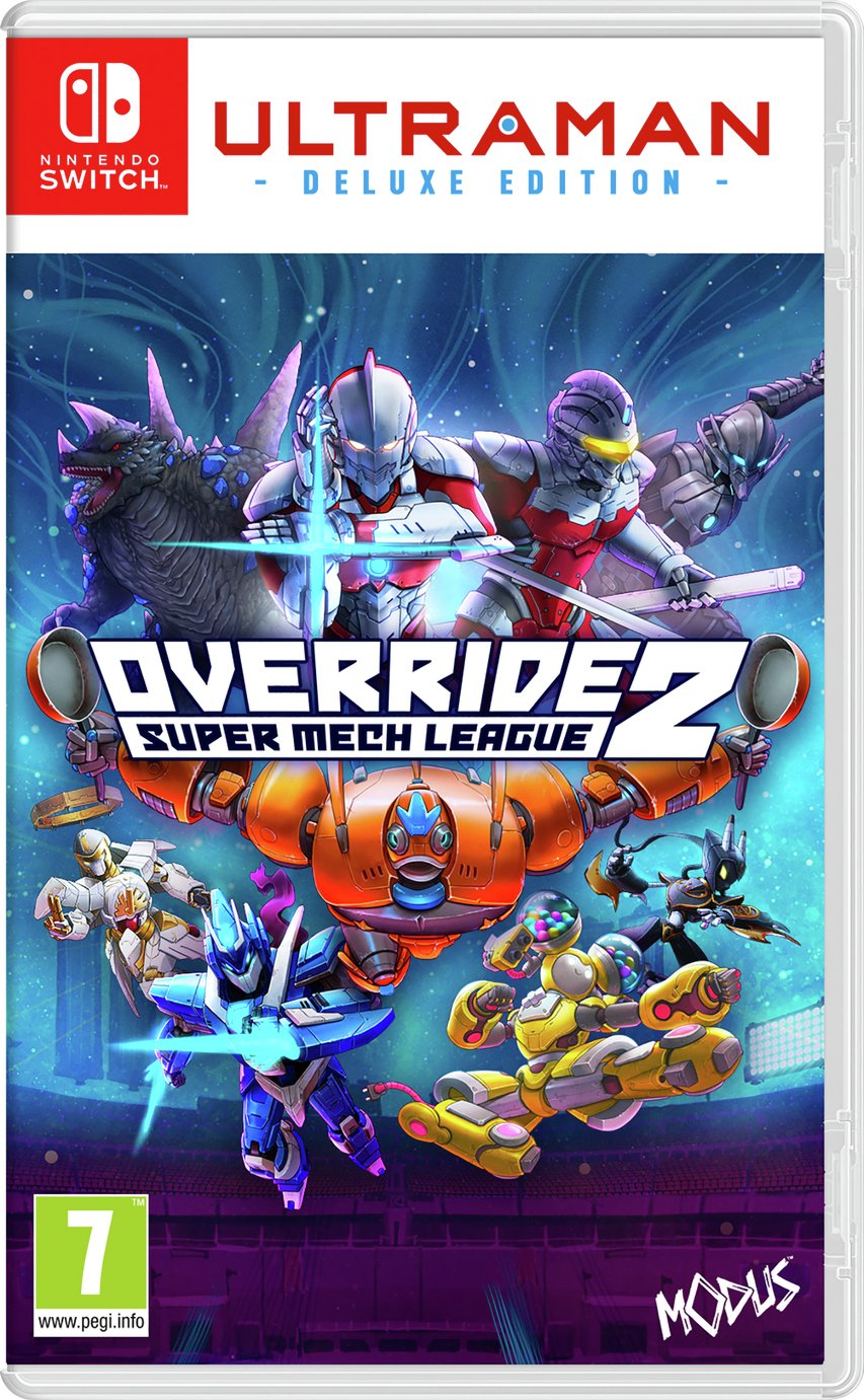 Override 2: Ultraman Edition Nintendo Switch Game