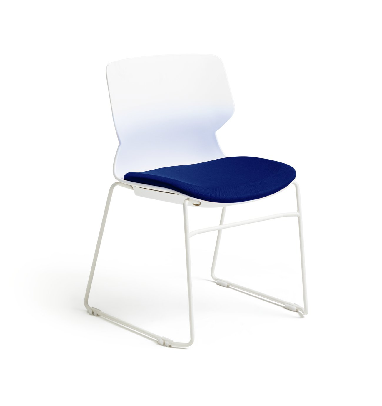 Habitat Tayte Office Chair - White and Teal