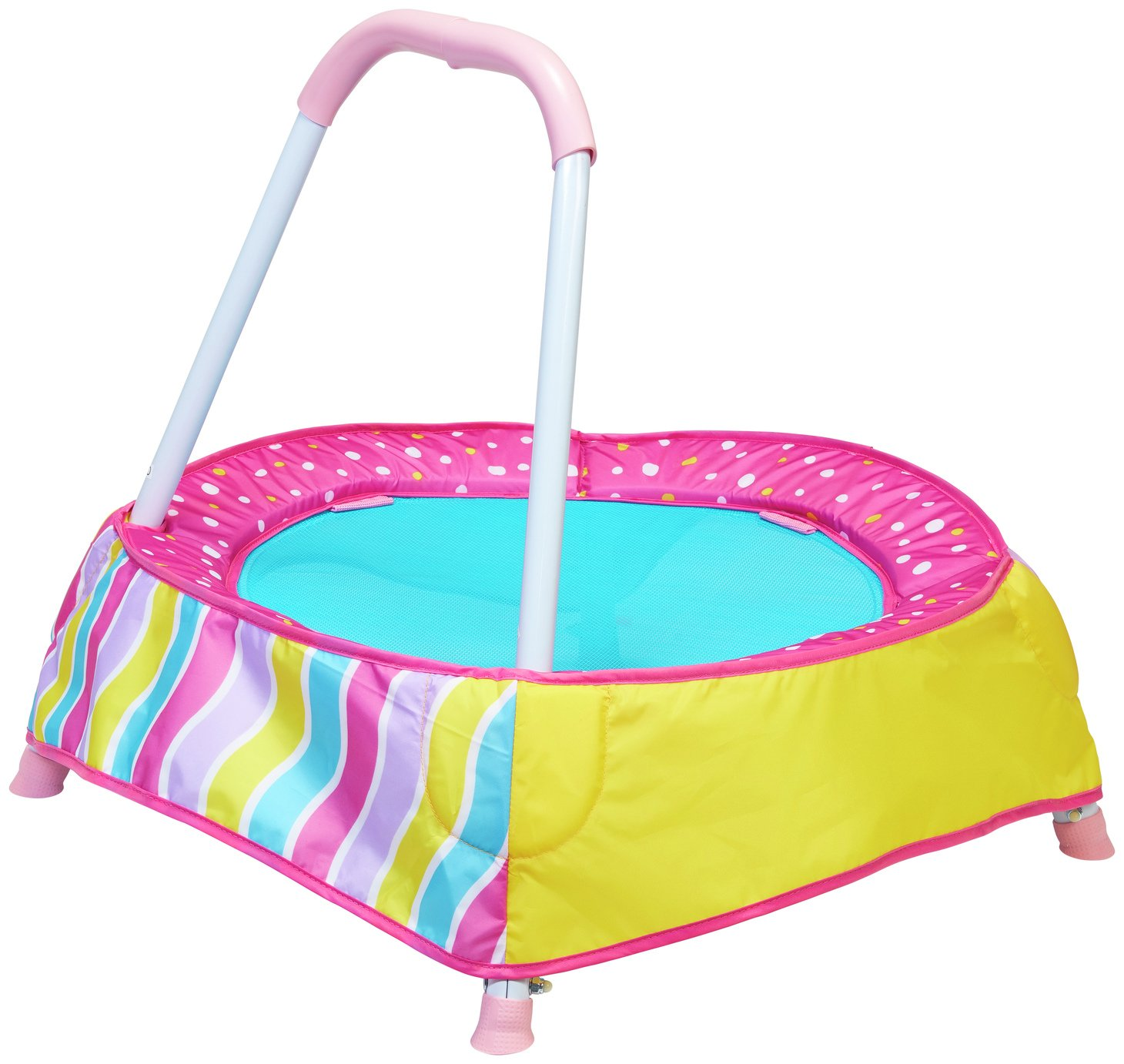 Chad Valley 2 Ft.Trampoline - Pink