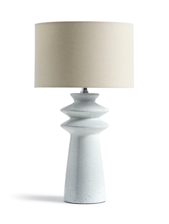 Habitat Astraeus Ceramic Table Lamp - White