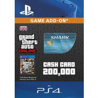 GTA 5 Tiger Shark Cash Card PS4 Digital Download