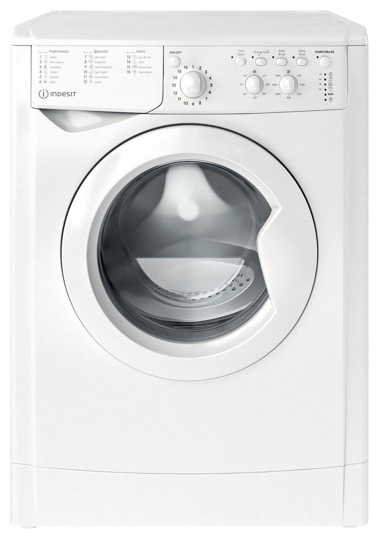 Indesit IWC81283WUKN 8KG 1200 Spin Washing Machine - White