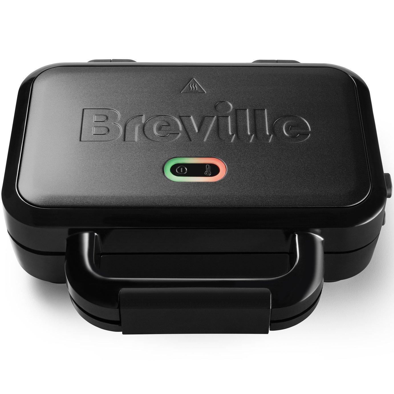 Breville VST082 Ultimate 2 Portion Sandwich Toaster - Black
