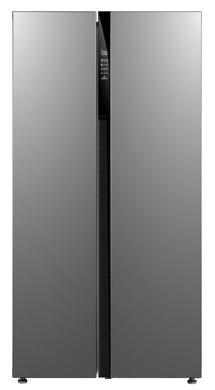 Bush MESBSX20 American Fridge Freezer - Stainless Steel