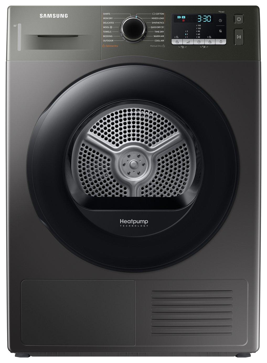 Samsung DV90TA040AX/EU 9KG Heat Pump Tumble Dryer - Graphite