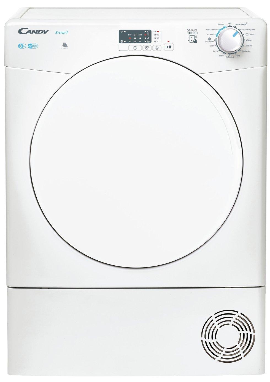 Candy CSEC8LF-80 8KG Condenser Tumble Dryer - White