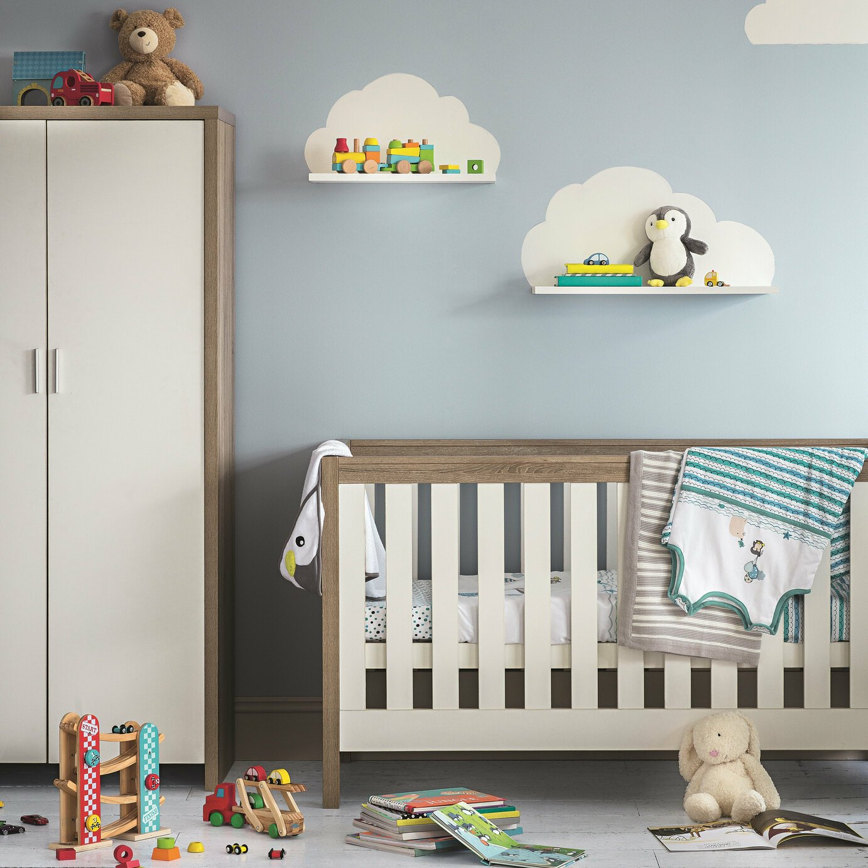 Tutti Bambini Modena Cot Bed - White Oak