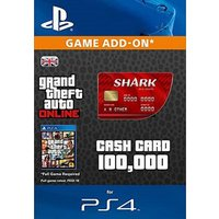 GTA V Red Shark Cash Card PS4 Digital Download