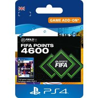 FIFA 21 Ultimate Team 4600 FIFA Points PS4 Digital Download