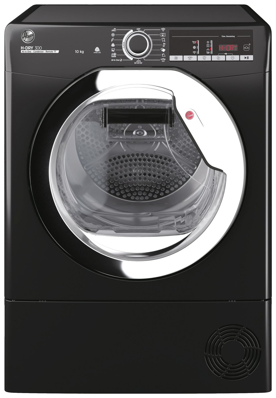 Hoover HLE C10TCEB-80 10KG Condenser Tumble Dryer - Black