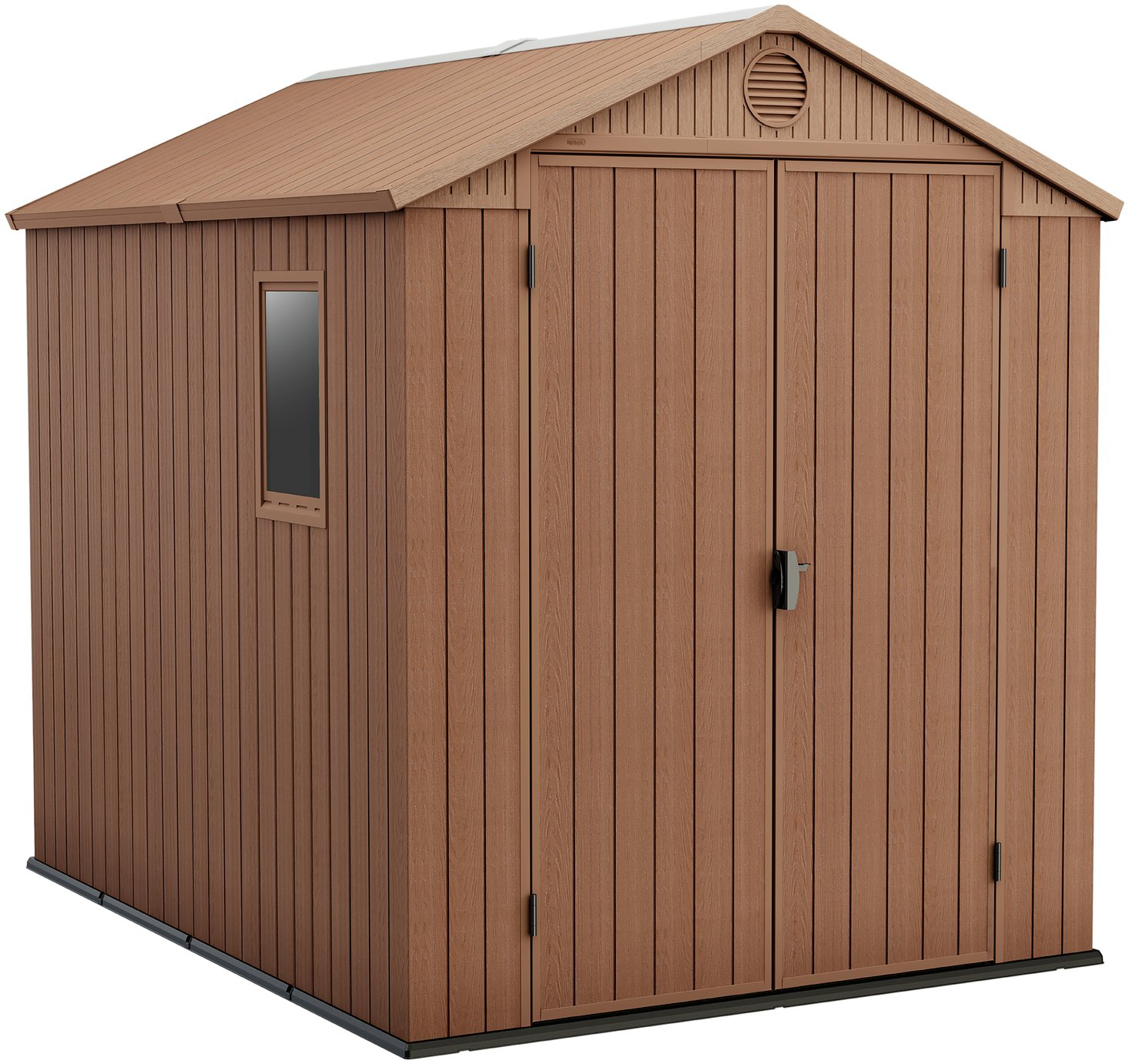 Keter Plastic Darwin Shed - 6 x 8ft