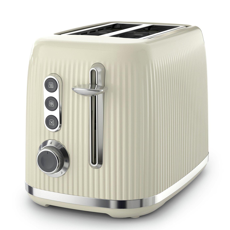Breville VTR003 Bold 2 Slice Toaster - Cream and Silver