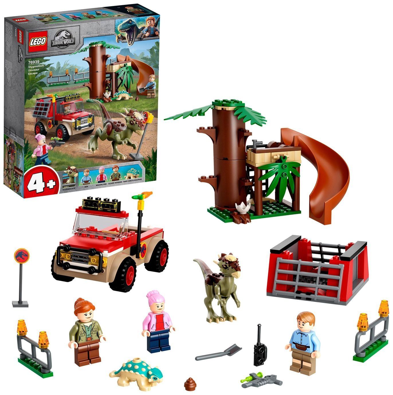 LEGO Jurassic World 4+ Stygimoloch Dinosaur Escape Toy 76939