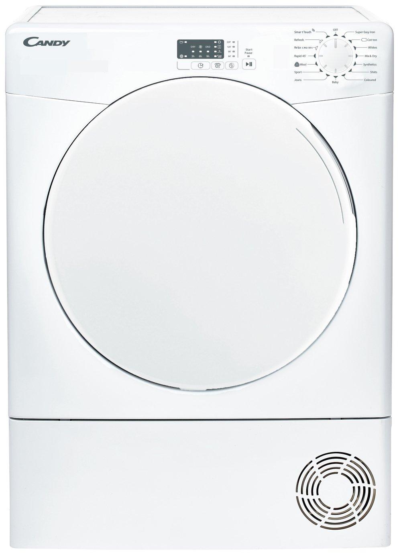 Candy CSE C10LF-80 10KG Condenser Tumble Dryer - White